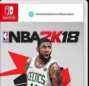 NBA 2K18 Nintendo Switch Saturn Offline