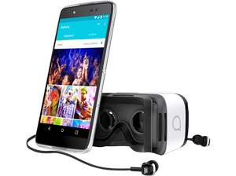 """Alcatel Idol 4s für 165€+ ggf. 1,99€ VSK bei Saturn - 5,5"""" 2560x1440 Pixel Smartphone mit 3GB Ram, Dual-Sim, 32GB Rom, Stereo-Lautsprecher uvm."""