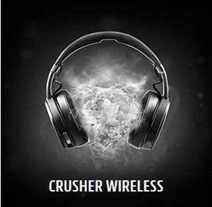 [Lokal] Media Markt SKULLCANDY CRUSHER Wireless, Over-ear Kopfhörer, Headsetfunktion, Bluetooth, Schwarz