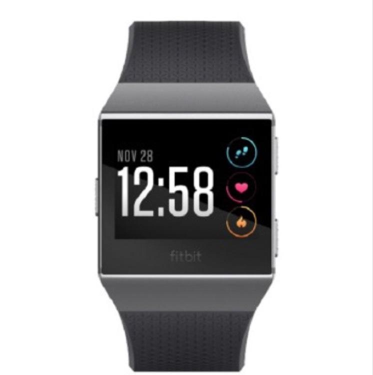 Techinthebasket.de Fitbit Ionic Rauchgrau
