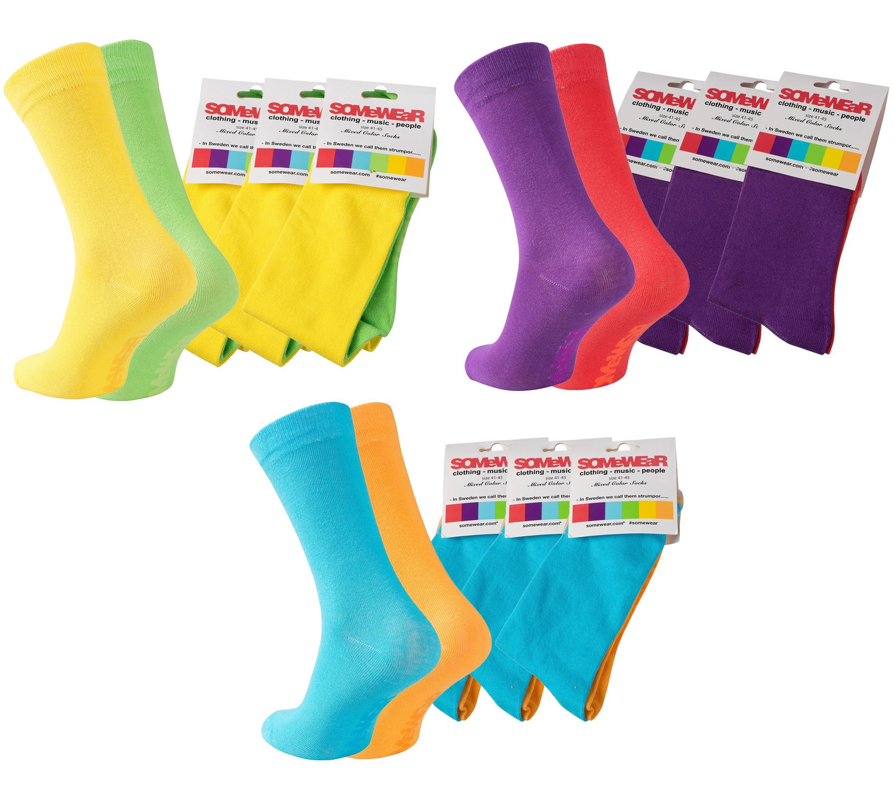 30 Paar bunte Socken (Gr.41-45) oder 10x Boxershorts (Restgrößen) je 19,90