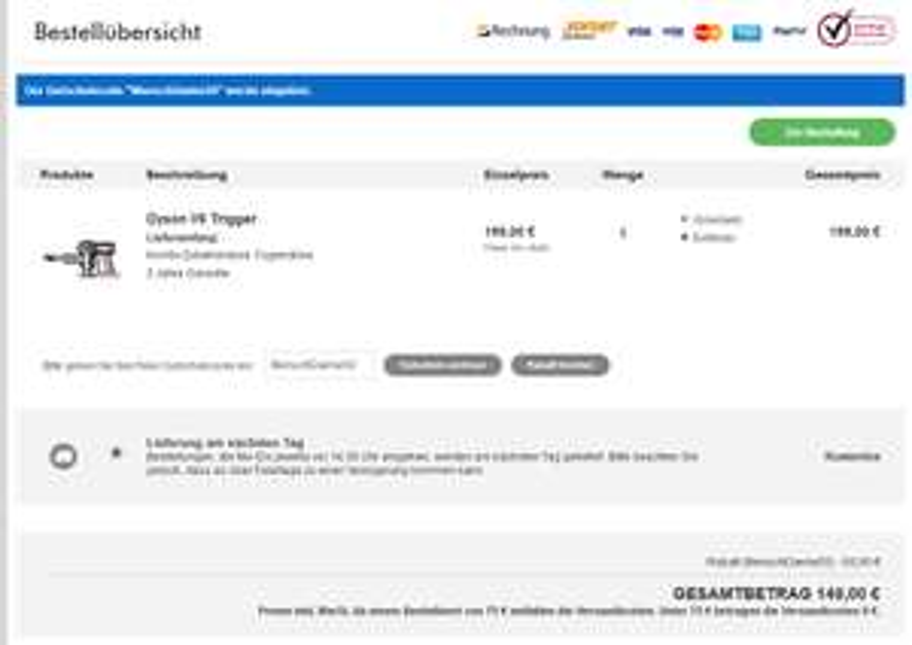 [Dyson Online Shop] Gutschein über €50,00 auf alles außer Zubehör und Sales