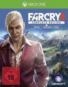 Far Cry 4 - Complete Edition (inkl. Season Pass) (Xbox One) 19,99€ (Saturn)
