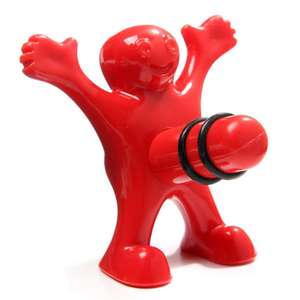 [Zapals] Funny Happy Man Wine Stopper