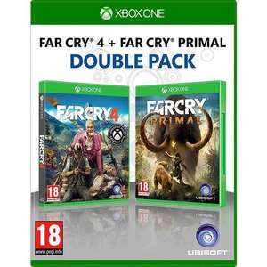 Far Cry 4 + Far Cry: Primal Double Pack (Xbox One) für 20,30€ (MyMemory)