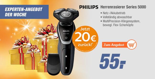 [EXPERT] Philips Rasierer S5110/06 inkl. 20€ Cachback auch Online