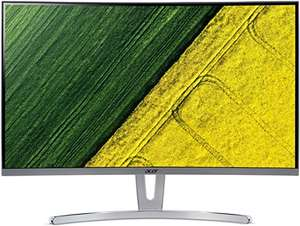 [Amazon] Acer ED273 Monitor (27 Zoll, VGA, DVI, HDMI, 4 ms Reaktionszeit, Full HD, Curved VA Display)