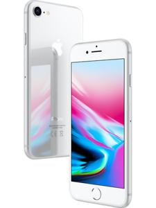 Apple iPhone 8 64 GB silber ohne Vertrag/SIMlock/Netlock (ebay - Händler)