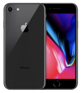 Apple iPhone 8 - 64GB - Space Grau (Ohne Simlock) Smartphone : nochmal 10€ weniger!