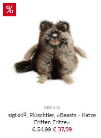 """sigikid® Beasts: """"Fritten Fritze"""" und viele Weitere teils stark reduziert"""