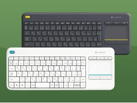 LOGITECH K400 plus, Tastatur, Weiß oder Schwarz für je 19,-€ versandkostenfrei [Saturn]
