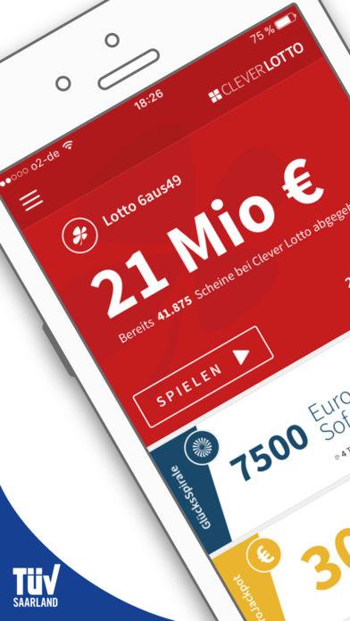 Zum Nikolaus:1 Feld Lotto 6aus49 gratis in Clverlotto-App | offizielle staatl. Vermittlung durch Lotto24