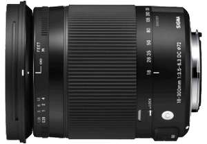 Sigma 18-300 3.5-6.3 HSM für 299,- (Saturn Late Night Shopping), PVG ab 377,-€