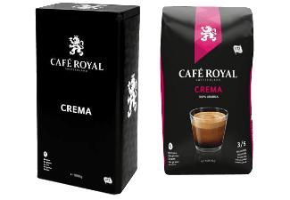 CAFE ROYAL CREMA 1KG BOHNEN+DOSE, VSTKFREI