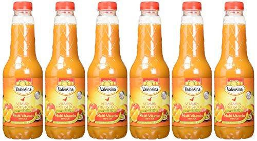 [AMAZON Sparabo] Valensina Multi-Vitamin 100% Saft, 6er Pack (6 x 1 Liter)