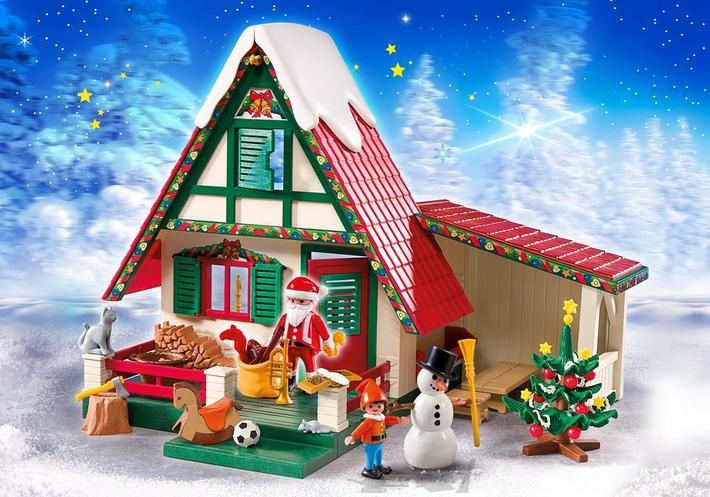 Hohoho, Playmobil 'Zuhause beim Weihnachtsmann'