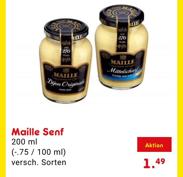 [Netto, Offline] Maille Dijon Senf verschiedene Sorten