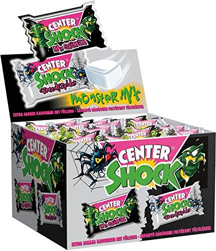 [AMAZON Sparabo] Center Shock Monster Mix | Box mit 100 Kaugummis | Extra-sauer | Cola- und Blutorangen-Geschmack