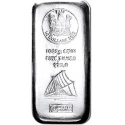 1 Kilo Barren Silber 999 für 508,95€ inkl. Versand