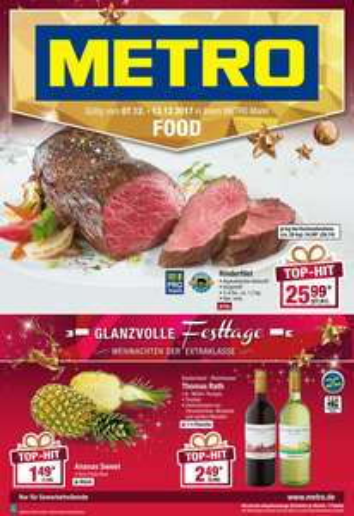 Rinderfilet (Argentinien) [Metro] EUR 27,81/Kg - Ab morgen neue Angebote -