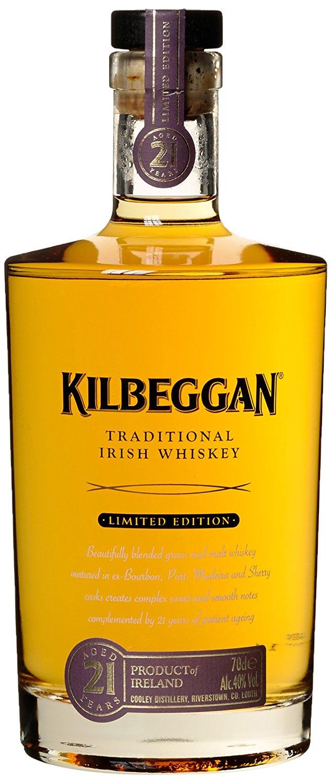 [Amazon] Kilbeggan 21 Jahre Irish Whiskey und andere Whisky im Tagesangebot u.a. Johnnie Walker, Talisker, Bruichladdich, Bowmore