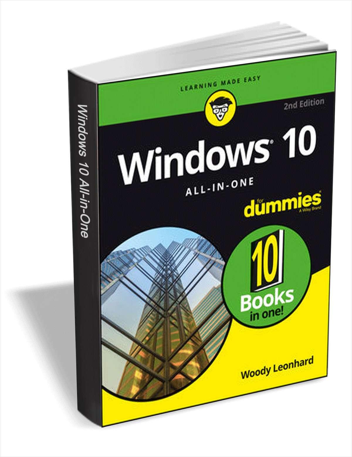 Windows 10 All-In-One For Dummies gratis statt 23,99€