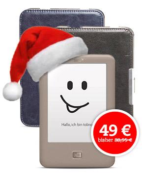[Thalia.de] Tolino Page für 49,00 €, statt 69,00 € + Tasche