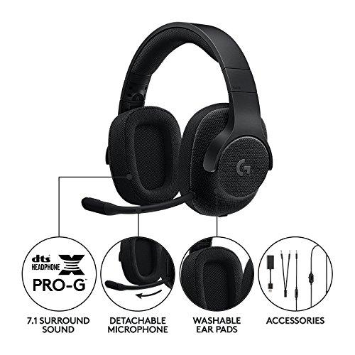 Logitech G433 Gaming Kopfhörer 7.1 [Amazon-Prime]
