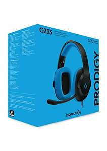 Logitech G233 Gaming-Kopfhörer [Amazon-Prime]