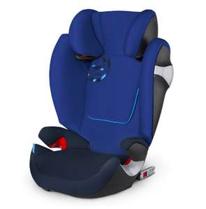 Kinderautositz: cybex Gold Solution M-fix in blau, Gruppe 2/3, ab 3 bis 12 Jahre