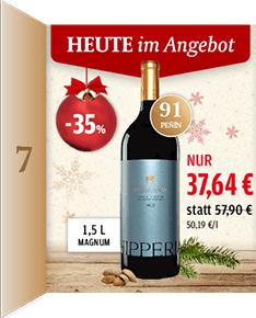 [vinos.de] Adventskalender - Hipperia 2010 Magnum + 10€ ab 50€MBW oder Gratiswein ab 75€MBW