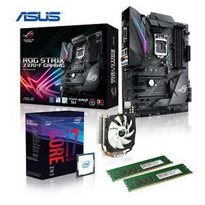 Intel Auftrüst-Kit i7-8700K + ASUS ROG STRIX Z370-F Gaming + Alpenföhn Ben Nevis @ Ebay Memory PC