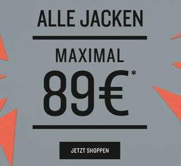 [Tom Tailor] Alle Jacken maximal 89€
