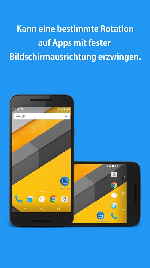 [Android] Rotation Control Pro für €0,00 statt €2,99
