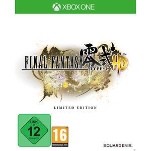 Final Fantasy: Type-0 HD FR4ME Limited Edition (Xbox One) für 9,99€ (Saturn + eBay Saturn)