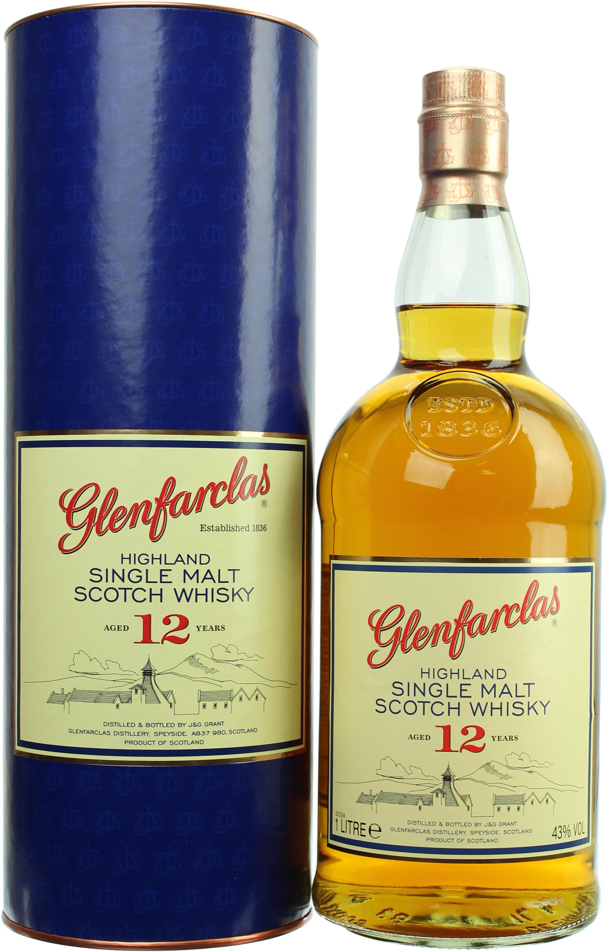 [Whiskyzone.de] 3x Glenfarclas 12 - 1Liter - 43% Vol.