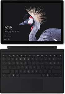 [Amazon Prime] Microsoft Surface Pro 2017 Core M3 4GB RAM 128GB SSD Windows 10 Pro mit Surface ProType Cover schwarz