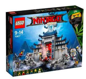 The Lego Ninjago Movie - 70617 Ultimativ ultimatives Tempel-Versteck