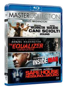 Denzel Washington Collection (4x Blu-ray) für 10,71€ oder 4 Stück für 17,80€ (Amazon.it)