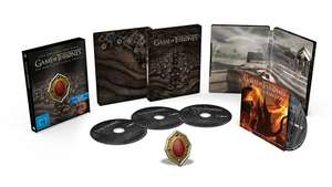 Game of Thrones: Die komplette 7. Staffel (Blu-ray + Steelbook) für 31,99€