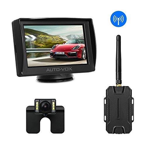 AUTO-VOX M1 W Wireless Rückfahrkamera mit Monitor für Wohnwagen und Wohnmobil