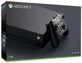 Xbox One X 1TB + Forza Motorsport 7 + Dishonored 2 + Doom + Fallout 4 für 523,26€