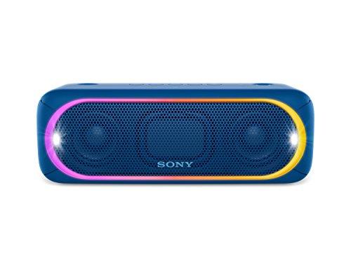 [Amazon oder MM] Sony SRS-XB30 Tragbarer, kabelloser Lautsprecher (farbige Lichtleiste, Stroboskoplicht, Extra Bass, Bluetooth, NFC, wasserabweisend, bis zu 24 Stunden Akkulaufzeit, Wireless Party Chain) alle Farben