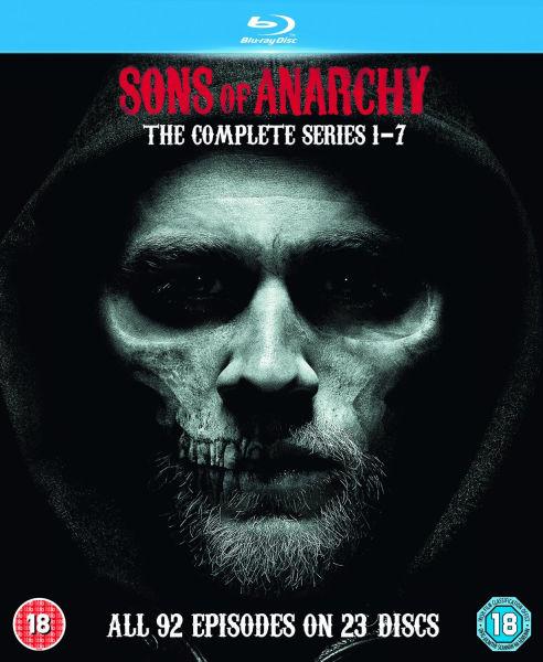 """Sons of Anarchy"" Complete Edition (Staffel 1-7) auf Bluray (nur O-Ton!)"