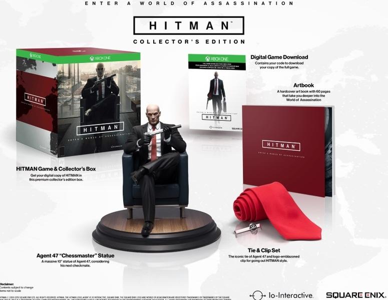 HITMAN Collector's Edition - Xbox One für 59,99€ per Abholung / Saturn !