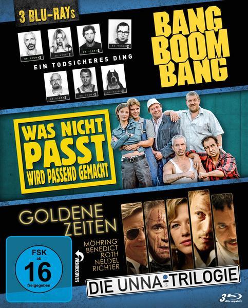 [Thalia] Bang Boom Bang - Was nicht passt - Goldene Zeiten (Die Unna-Trilogie) [3 BRs]