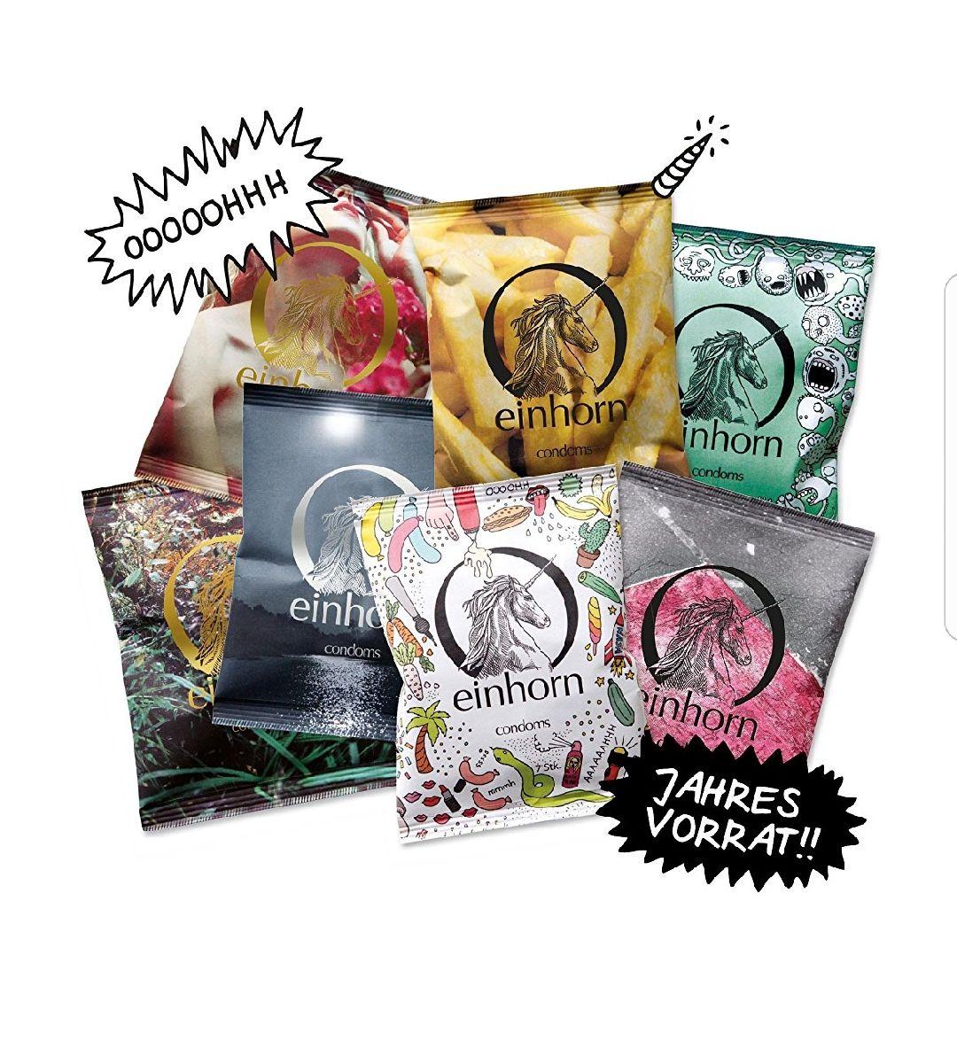 Einhorn Kondome, 49 Stück, vegan (Blitzangebot) [Amazon]