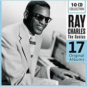 Amazon  - Ray Charles .- 17 Original Albums Box-Set ( 10 CDs) - Nur 9,99 €