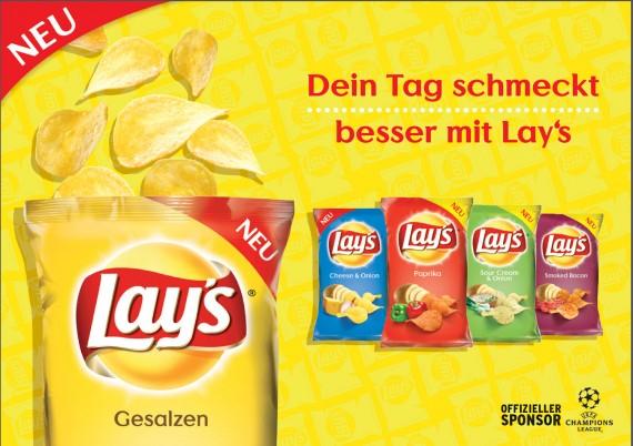 Lay's Kartoffelchips versch. Sorten dank Coupon für 0,48€ bei Kaufland