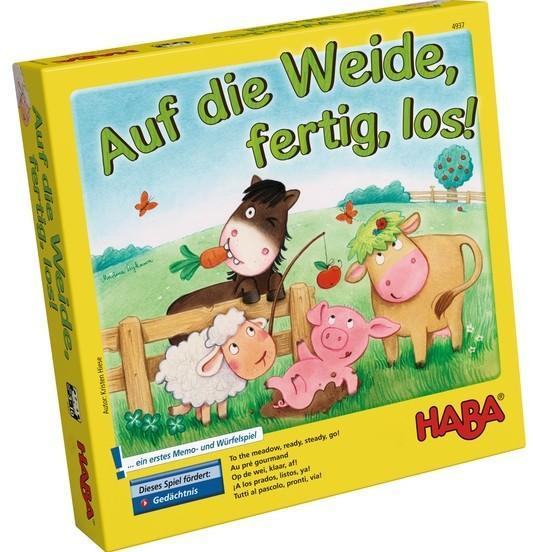 [THALIA.DE] HABA 4937 - Auf die Weide, fertig, los!....und andere Haba Spiele ebenfalls günstig